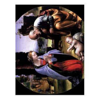 Bartolomeo, Fra Die Anbetung des Kindes, Tondo um  Postcard