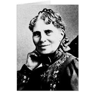 Barton ~ Clara Founder American Red Cross Greeting Card