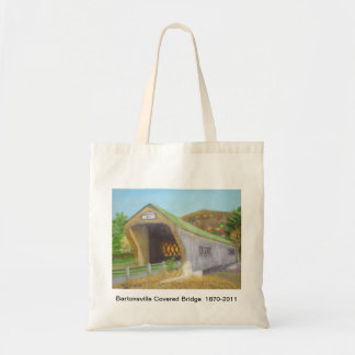 Bartonsville Covered Bridge Budget Tote Bag