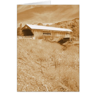 Bartonsville Covered Bridge Card