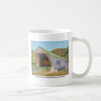 Bartonsville Covered Bridge Basic White Mug