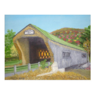Bartonsville Covered Bridge Postcard