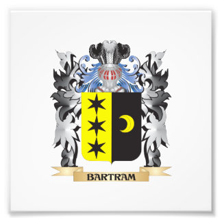 Bartram Coat of Arms - Family Crest Photo