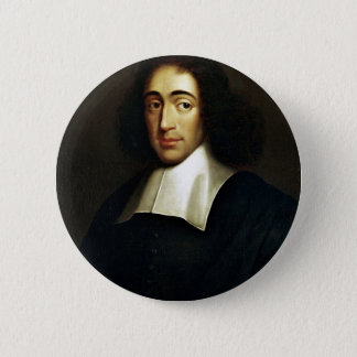 Baruch Spinoza 6 Cm Round Badge