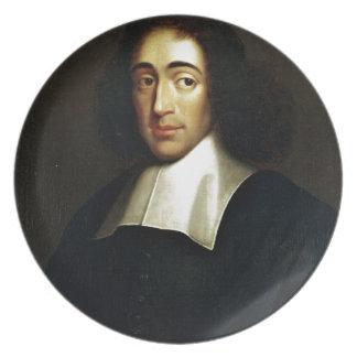 Baruch Spinoza Plate