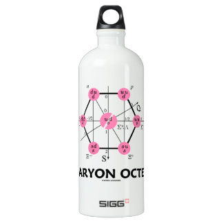 Baryon Octet (Particle Physics) Water Bottle