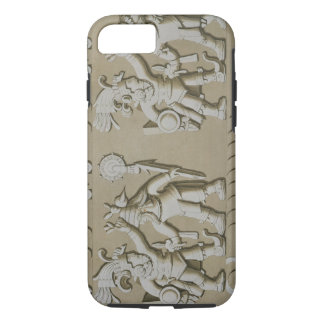 Bas Relief of Ancient Aztec Warriors, from The Sto iPhone 7 Case
