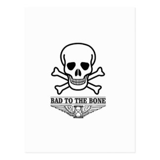bas to the bone death postcard