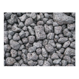 Basalt cobbles postcard
