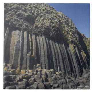 Basalt Columns by Fingal's Cave, Staffa, off Large Square Tile