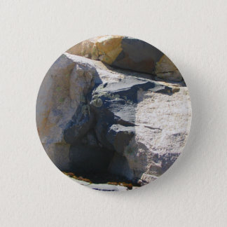 Basalt Rock Dike Button Pin