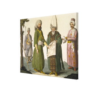 Bascia (Military Commander) a Bascia in Battle Dre Stretched Canvas Prints