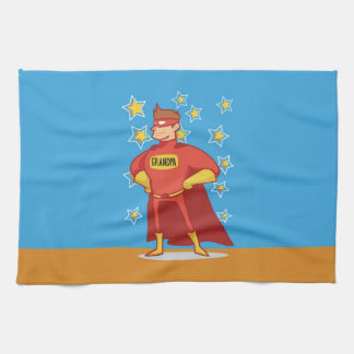BASE_24x16_HORIZONTAL Grandpa Superhero, Grandpare Tea Towel