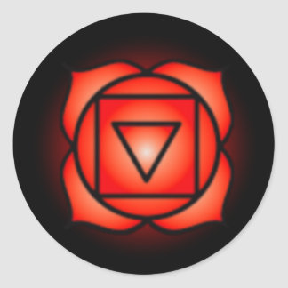 Base Root Chakra Stickers