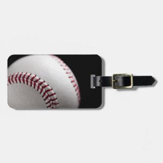 Baseball 2 luggage tag
