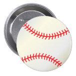 Baseball 7.5 Cm Round Badge