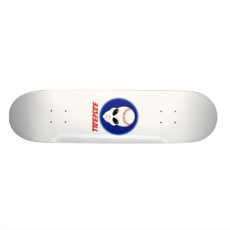 Baseball Alien Skate Board