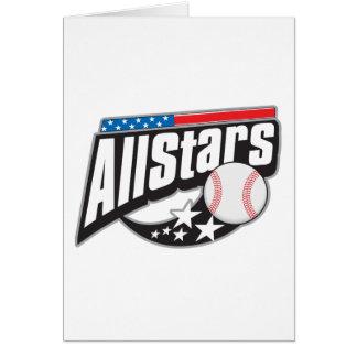 Baseball All Stars Card