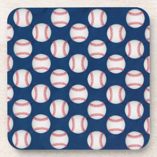 Baseball/American flag coaster