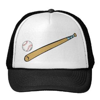 Baseball and Bat Trucker Hats