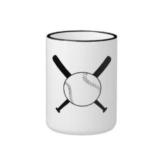 Baseball And Bats Coffee Mug