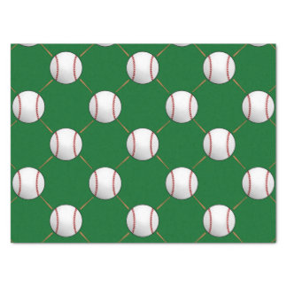 Baseball and Bats Tissue Paper