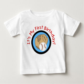 Baseball and Glove 1st Birthday Tshirts and Gifts