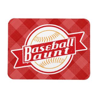 Baseball Aunt Magnet
