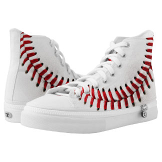 Baseball ball high tops
