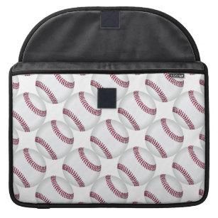 Baseball Balls Pattern Sports Sleeve For MacBook Pro