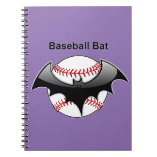 Baseball Bat Bat Notebook