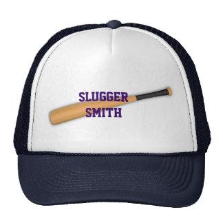 Baseball  bat hat.