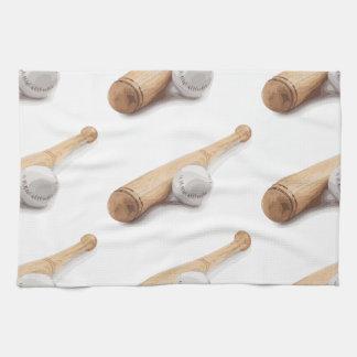 Baseball bat kitchen towels