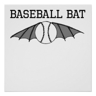 Baseball Bat Poster