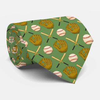 Baseball & Bat Tie