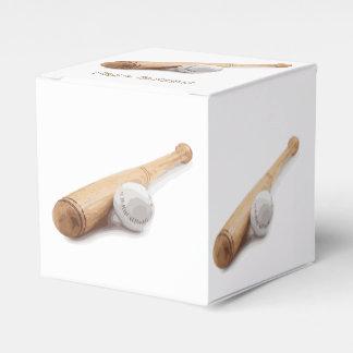 Baseball bat wedding favour box