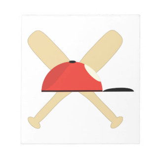 Baseball Bats Note Pad
