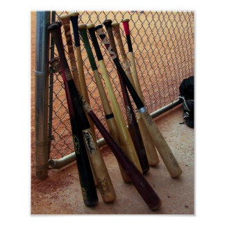 Baseball Bats - Poster
