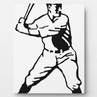 Baseball Batter Plaque