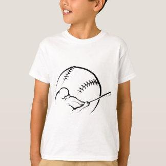 Baseball Batter with Ball T-Shirt