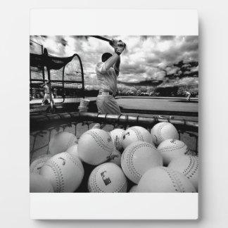 Baseball Batting Practice Plaque