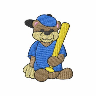 Baseball Bear Polo Shirt