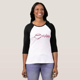 Baseball Beat Women's 3/4 T-Shirt