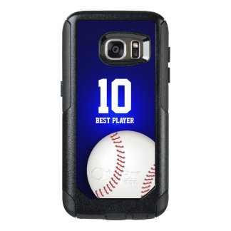 Baseball Best Player No   Sport Cool Gifts OtterBox Samsung Galaxy S7 Case