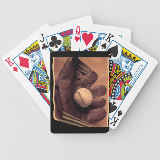 BASEBALL BICYCLE PLAYING CARDS