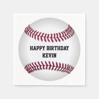 Baseball Birthday Party Paper Napkins Disposable Napkin