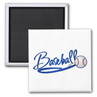 Baseball-blue Fridge Magnet