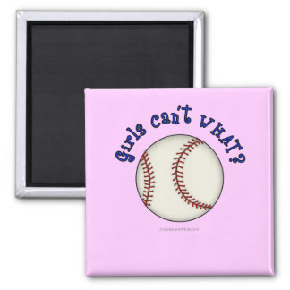 Baseball-Blue Refrigerator Magnets