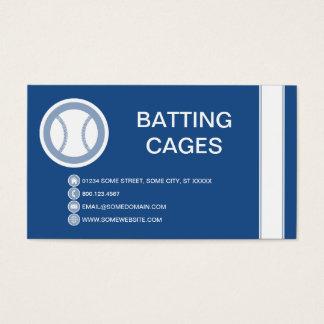 BASEBALL bubble Business Card
