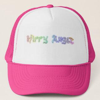 Baseball cap with rainbow Hippy Angel Logo